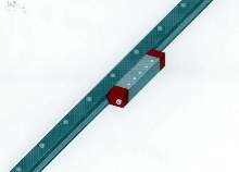 Linear Guide offers low height and wide rails.