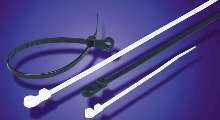 Cable Ties have weather-resistant design.