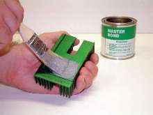 Thermally Conductive Adhesive features 1:1 mix ratio.