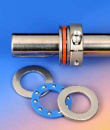Thrust Bearings add low-friction face to collars.
