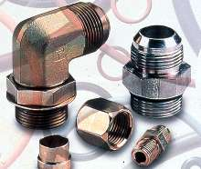 O-Rings meet ISO 6149 metric tube fitting requirements.