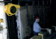Trailer Fan helps make workers more comfortable.