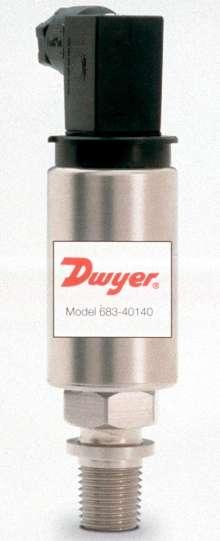 Pressure Transducers provide 4-20 mA or 5 V output.