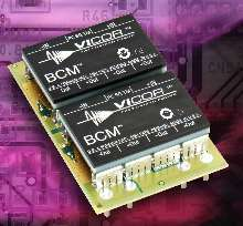 Bus Converter Modules deliver up to 100 A or 600 W.