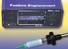 Benchtop Dispensers use positive displacement technology.