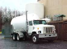 Liquid Delivery Vehicle offers 2,000 or 3,000 gal capacities.