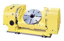 CNC Rotary Table rotates up to 22.2 rpm.