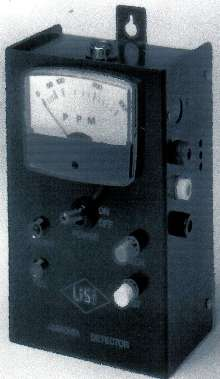 Ammonia Gas Detectors have audible and visual alarms.
