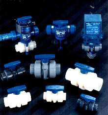 Ball Valves suit corrosive and ultra-purity applications.