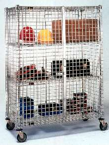 Storage/Transport Units offer security features.