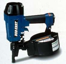 Lightweight Coil Nailer suits siding applications.