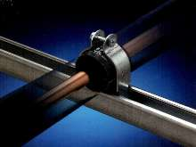 Clamps help eliminate condensation issues.