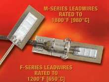 Strain Gages are rated up to 1,800°F.