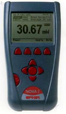 Laser Power/Energy Meter offers digital or analog display.