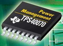 DC/DC Buck Controllers achieve up to 96% power efficiency.