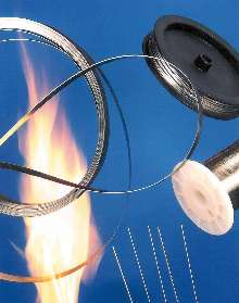 Wire and Ribbon can withstand temperatures up to 1,250°C.