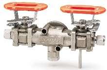 Test Valve Assembly helps monitor steam trap performance.