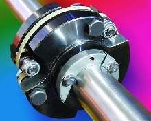 Coupling accommodates variety of bore sizes.