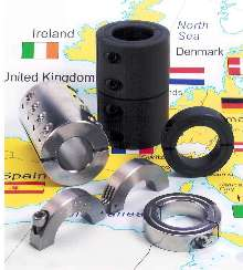 Collars and Couplings include metric sizes for worldwide use.