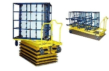 Non-Powered Cart suits forklift-free applications.
