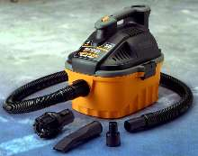 Wet/Dry Vacuum Cleaner utilizes 5 peak hp motor.