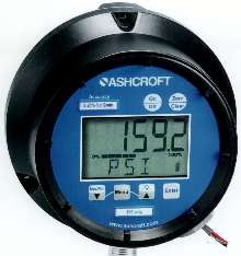 Digital Gauge permits tool-less battery replacement.