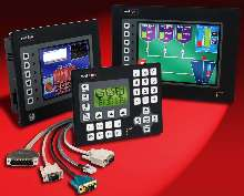 Touchscreen HMI Panels Web-enable up to 5 serial protocols.