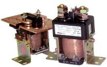 Compact DC Contactors are rated from 30-1,500 A.
