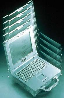 Notebook PC survives 3 ft drop to concrete.
