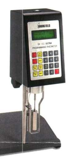 Rheometer incorporates yield stress capability.