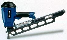 Strip Nailer features ergonomically balanced design.