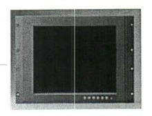 Flat Panel Monitors have stainless steel housing.