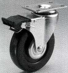 Casters are offered with attachable brake kit.