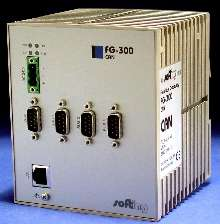 CANbus to Ethernet Gateway is Web-accessible.