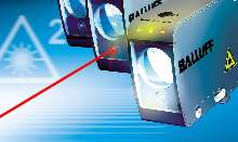 Laser Sensor measures distances or objects up to 6 m.