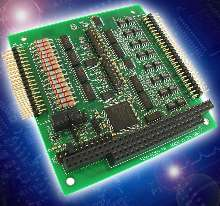 PC-104 Board features optically isolated I/O.