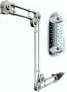 Aero-Mechanical Conveyor handles cohesive materials.