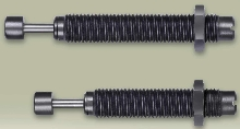 Shock Absorbers are adjustable and self-compensating.