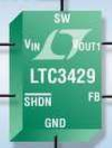DC/DC Converter offers output disconnect and soft start.