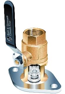 Flow Control Flange delivers minimal pressure drop.