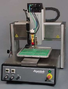 Benchtop Dispenser features precision motion system.