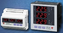 Power Monitors measure multiple 3-phase parameters.
