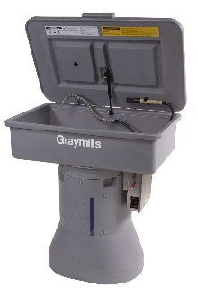 Parts Washers provide on-the-spot cleaning.