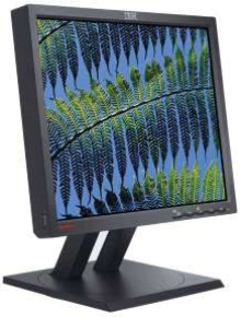 Monitor has ultra-thin-frame design.