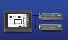 Touchscreen suits industrial automation applications.