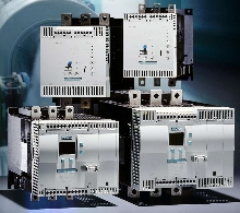Soft Starters work with 3-phase asynchronous motors.
