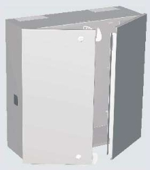 Meter Cabinets are available in 3 sizes.