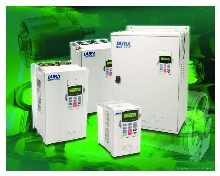AC Drives offer sensorless vector and closed-loop control.