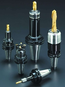 Toolholder System features taper and flange dual contact.