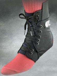 Ankle Brace provides comfort and support.